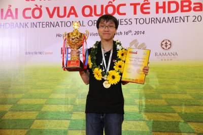 Trường Sơn đăng quang Giải cờ vua quốc tế HDBank 2014